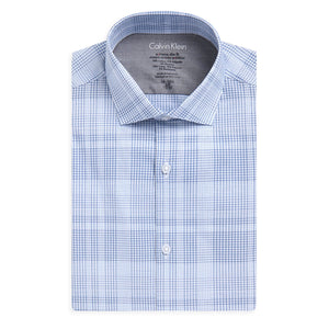 X Fit Ultra Slim Fine Plaid Shirt