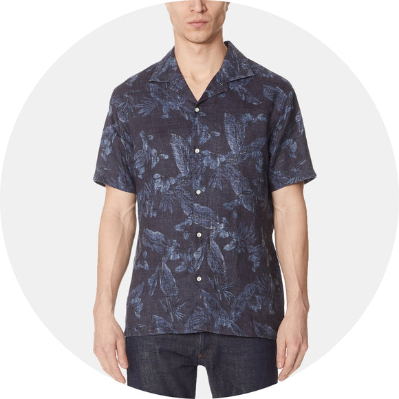 Dario Short Sleeve Print Shirt