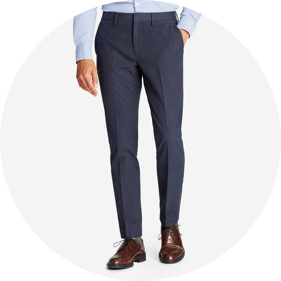 Stretch Cotton Dress Pants