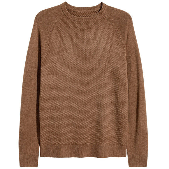 Textured-Knit Cashmere Sweater