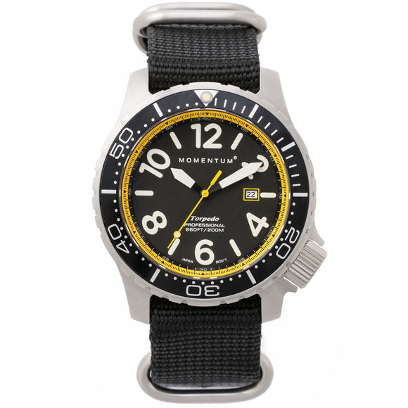 Torpedo Blast 44 Nato Watch