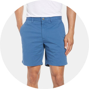 "Stretch Washed Chino 7"" Short"
