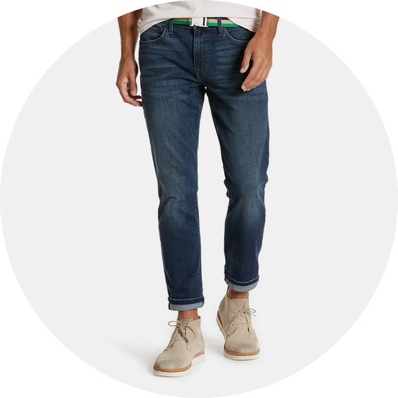 Slim Fit Straight Leg Jean