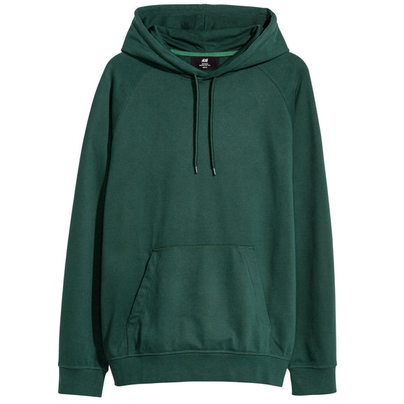 Hooded Raglan Sleeve Sweatshirt