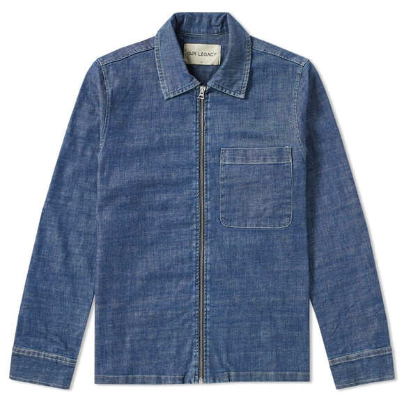 Drip Denim Shirt