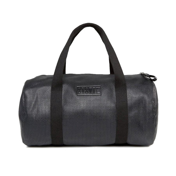 Black PU Duffle Bag