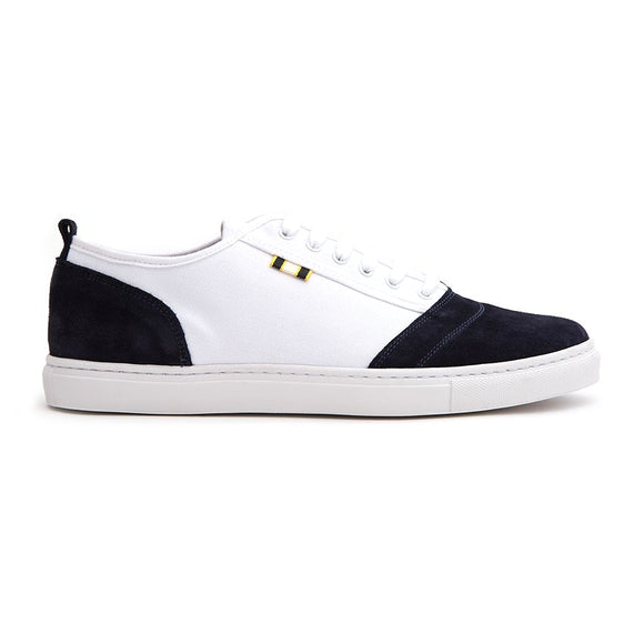 Suede Canvas Low Sneaker
