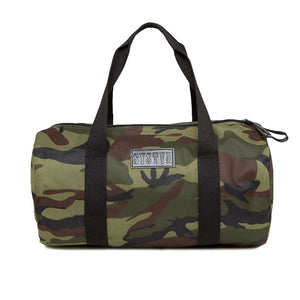 Camo Canvas Duffle Bag
