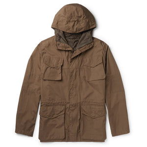 Cotton Hooded Field Jacket
