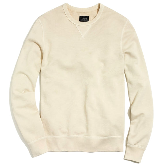 Sunwashed Garment-Dyed Crewneck Sweatshirt