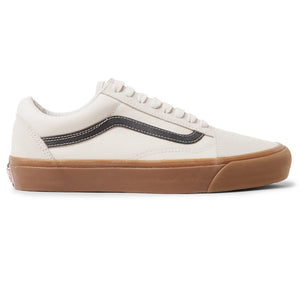 Og Old Skool Lx Leather-trimmed Canvas And Suede Sneakers Vans KL4CJH
