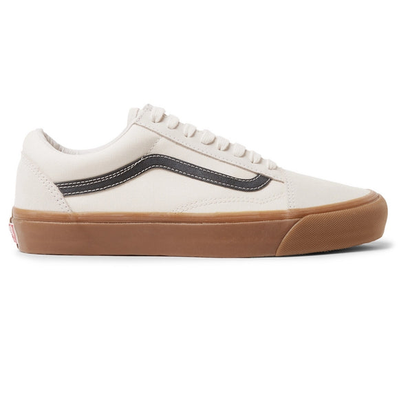 OG Old Skool LX Leather-Trimmed Canvas and Suede Sneaker