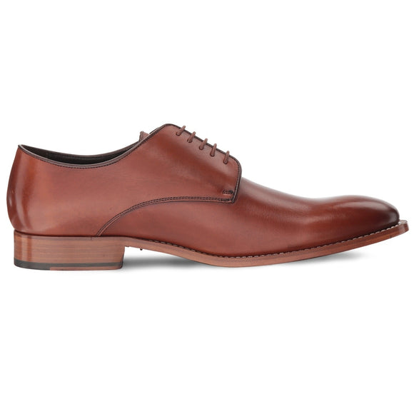 Hank Leather Plain Toe Derby
