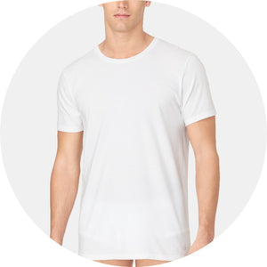 Cotton Classic Crew Neck Undershirt