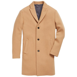 Stretch Italian Wool Topcoat
