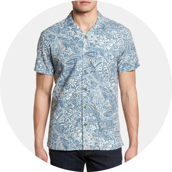 Shoals Trim Fit Camp Shirt