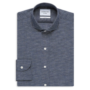 Textured Woven Slim Fit Shirt