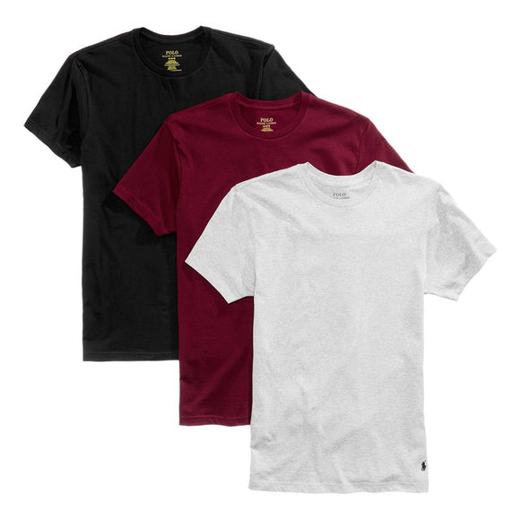 3 Pack Cotton Crewneck Tee