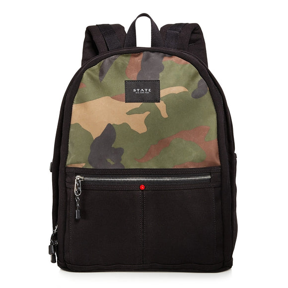 Nevins Camouflage Backpack