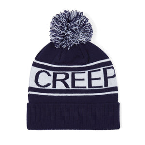 Creep Print Bobble Beanie
