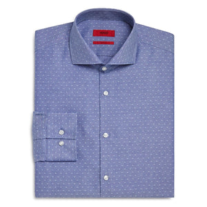 Dobby Dot Slim Fit Shirt