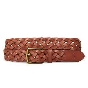 Braid Leather Belt