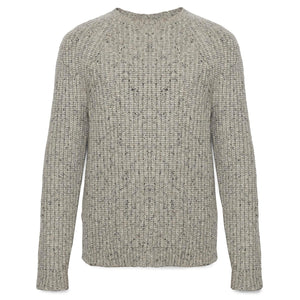 Merino Wool Blend Ribbed Sweater