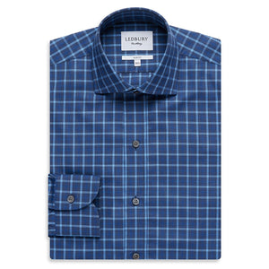 Large Check Slim Fit Shirt