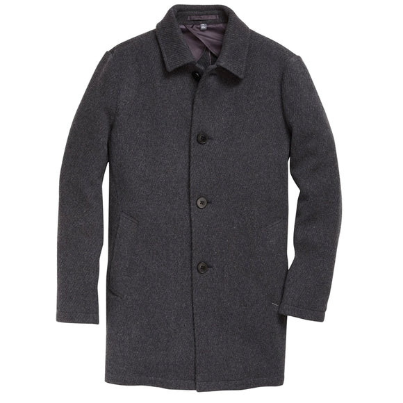 Italian Wool Car Coat