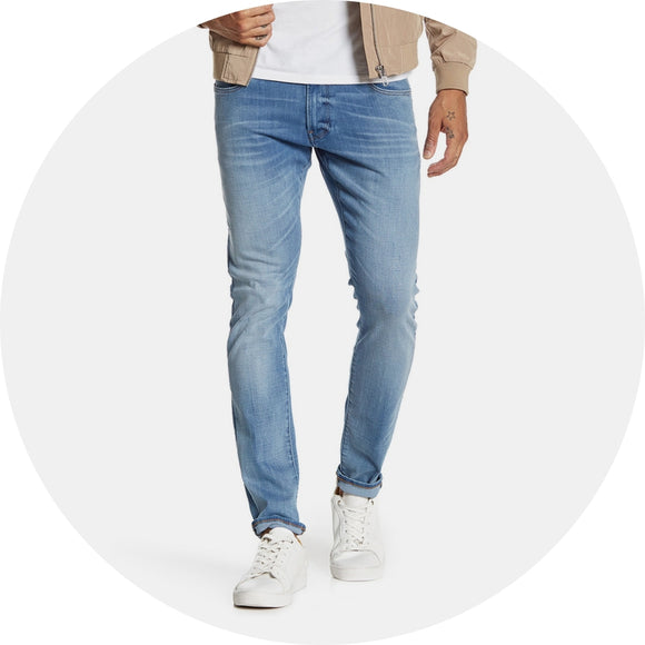 3301 Deconstructed Skinny Jean