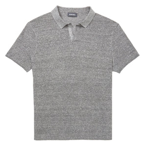 Linen Sweater Polo