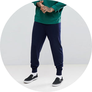 Cashmere Mix Jogger Sweatpants
