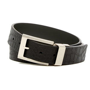 Garrison Reversible Leather Belt