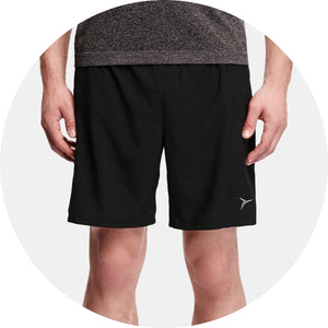 Go-Dry Mesh-Trim Run Short