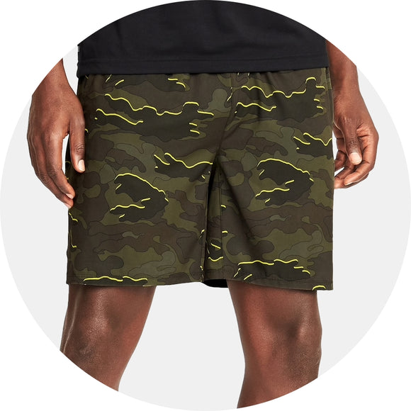 Go-Dry 4-Way Stretch Run Short