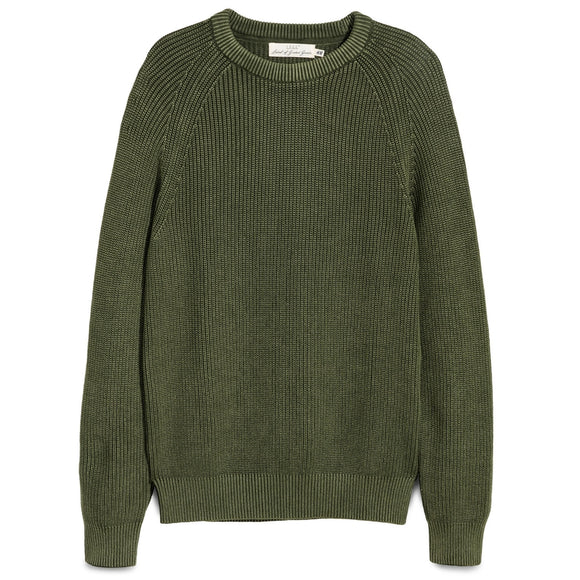 Washed Cotton Sweater
