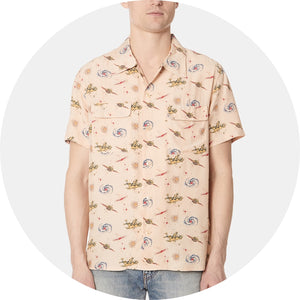 1940s Hawaiian Short Sleeve Shirt