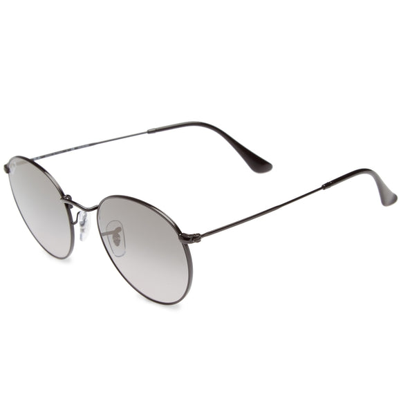 53mm Polarized Round Sunglasses