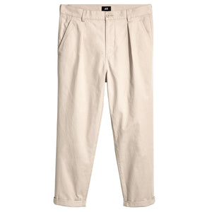 Pleated  Relaxed Chino