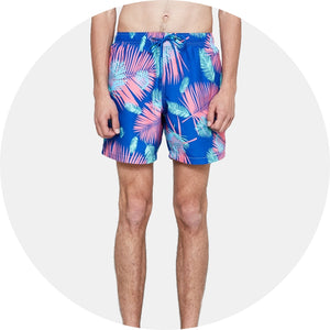 Tropicano Mid Length Swim Short