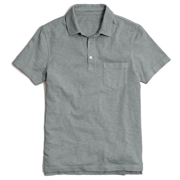 Sunwashed Garment-Dyed Polo