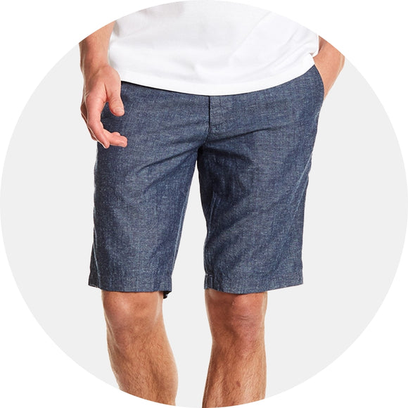 Chambray Relaxed Short