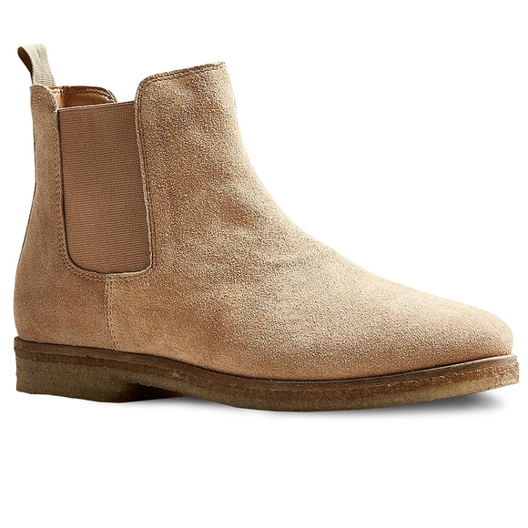 Double Crepe Suede Boot