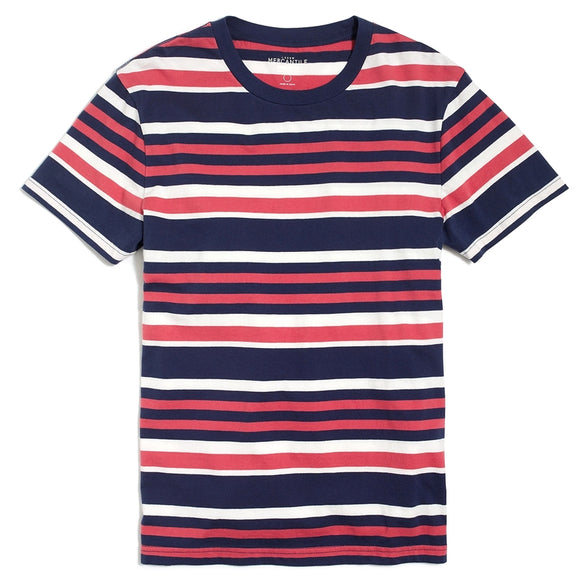 Broken-In Multi Stripe Tee