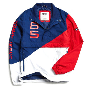Retro Block Windbreaker