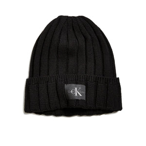 Wide Cable Knit Beanie