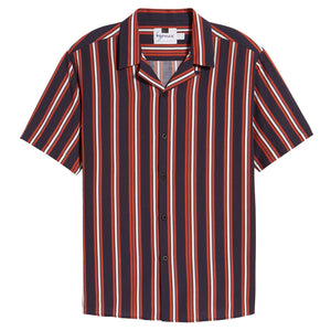 Stripe Camp Shirt