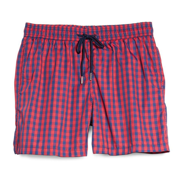 Plaid Swim Short