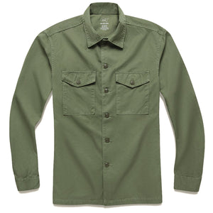 Twill Fatigue Overshirt