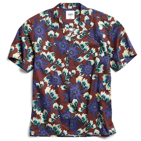 Jungle Short Sleeve Button-Down Shirt